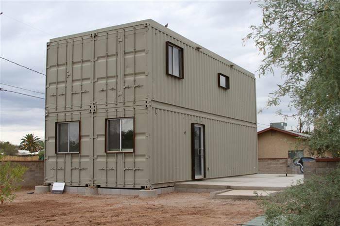 Membangun Rumah dari Kontainer Peti Kemas Bekas