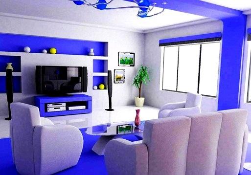 warna-cat-ruang-tamu-kombinasi-putih-biru