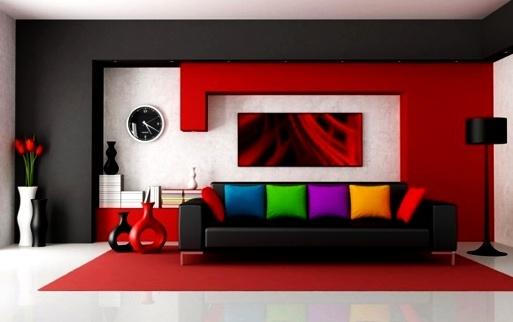 warna-cat-ruang-tamu-merah-marun